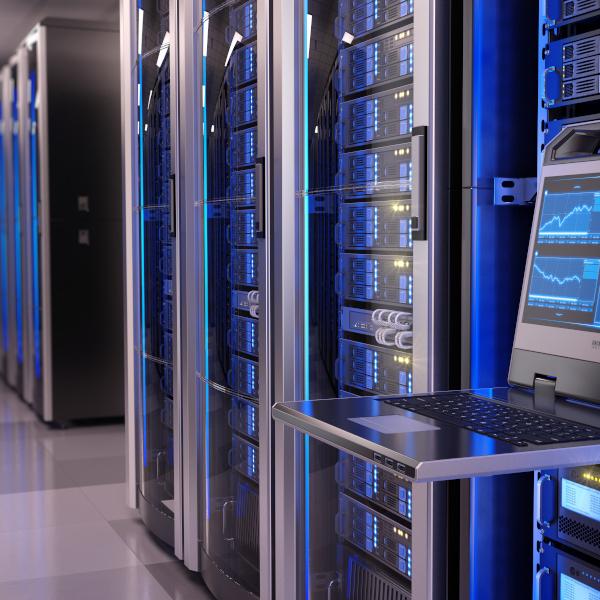 Server in einem Datencenter